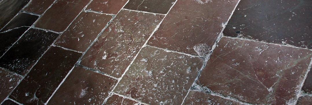 pulire un terrazzo dal calcare ostinato - Pulire Piastrelle Con Calcare