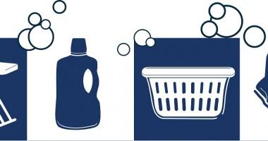 Come organizzare pulizie della casa con lavoro